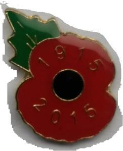 poppy 1915-2015